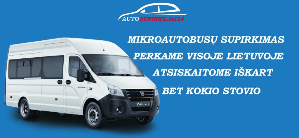 Mikroautobusų supirkimas